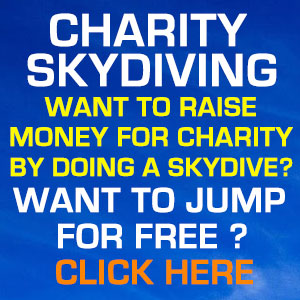 Charity Skydiving - Want to raise money for a charity by doing a skydive? Want to jump for free? Click here or follow this link!