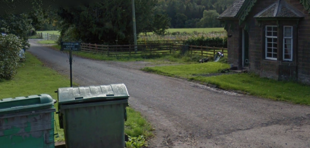 View of entrance to Strathallan